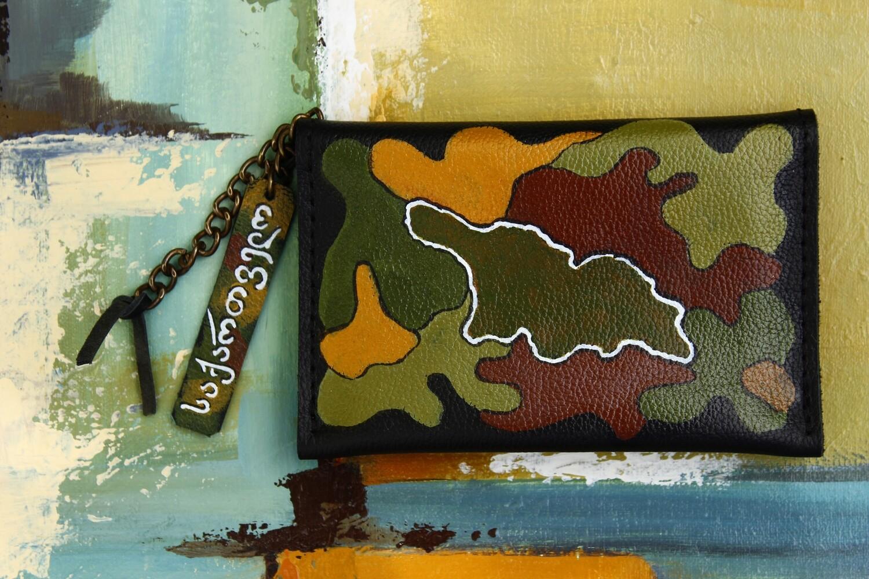 bestMark საფულე 15x10 სმ NM - Leather Wallet NM საქართველო