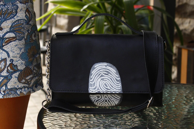 ანაბეჭდი - bestMark - ჩანთა - leather shoulder bag 26x20x10 სმ