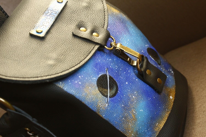 bestMark ზურგჩანთა 32x34x10 სმ - Leather Backpack
