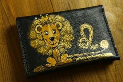 ლომი bestMark საფულე 15x10 სმ NM - Leather Wallet NM