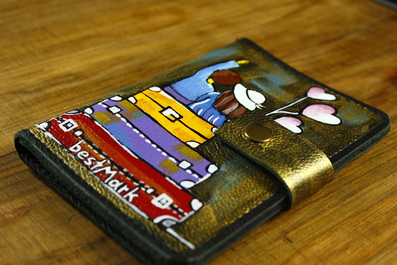bestMark საპასპორტე Passport Cover 15x11 cm