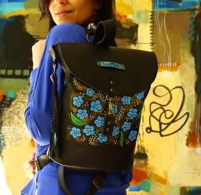 კესანები bestMark ზურგჩანთა 32x34x10 სმ - Leather Backpack