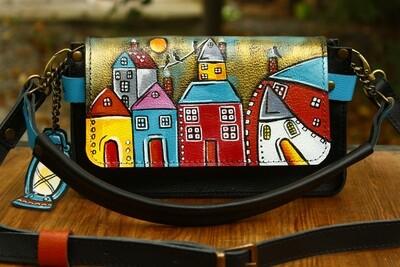bestMark ჩანთა 23x13x6 სმ - leather handbag