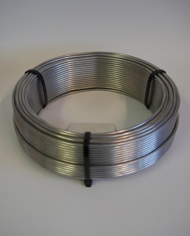 Aluminium Wire Silver 3.00mm 500g