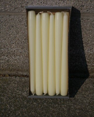 Tapered Candles Ivory