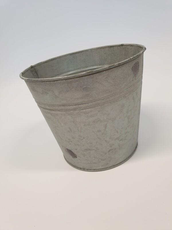 Rustic Zinc Bucket