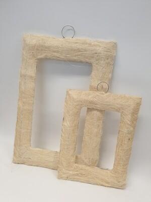 Sisal Frames White