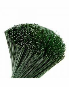 Stub Wire Green 0.8 mm x 31 cm