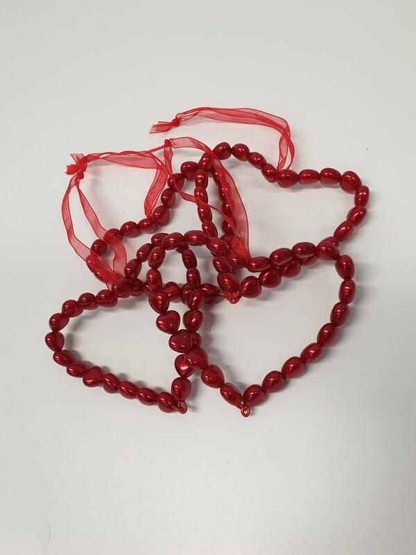 Heart Bead Hanging Decoration