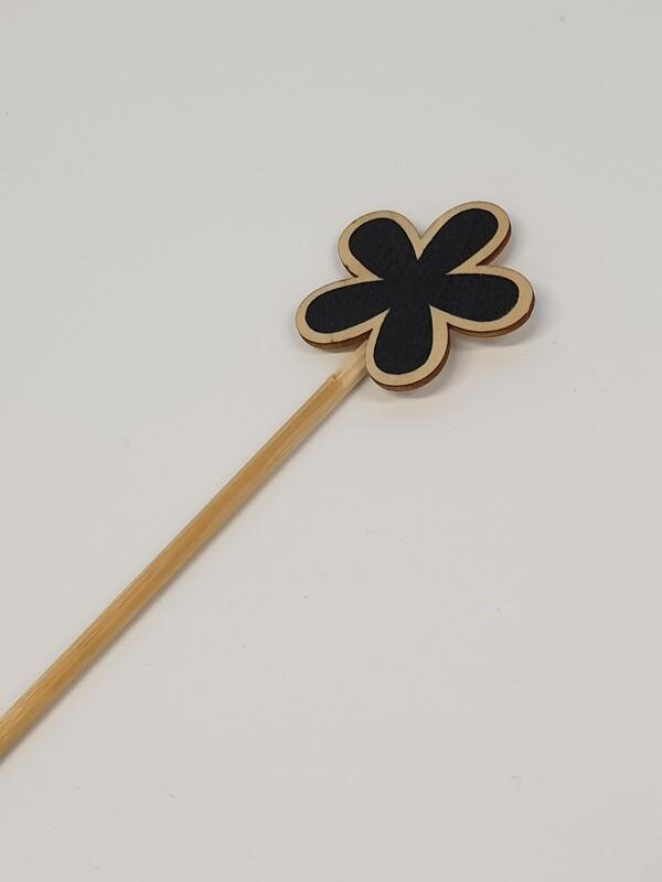 Flower Black Board Pick