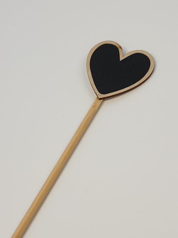 Heart Black Board Pick