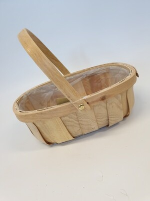 Trug with Moving Handle