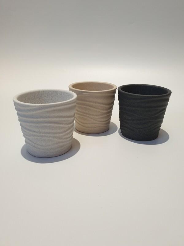 Mini Textured Succulent Pots