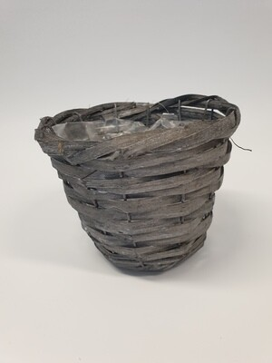 Woodhouse Grey Flower Pot Basket