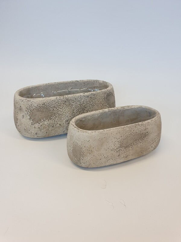 Cement Oval Trough