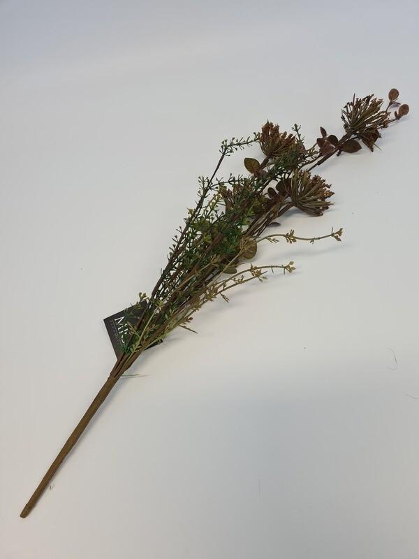 Dried look Cornflower Brown