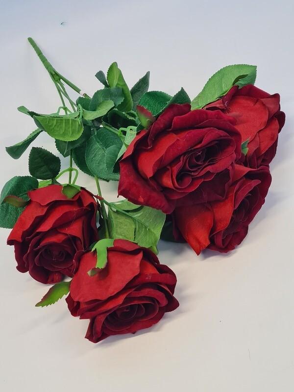 Rose Spray Red Velvet