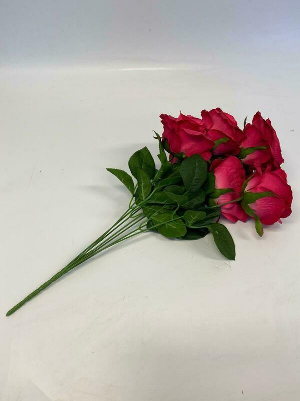 Camelot Rose Bunch Fuchsia