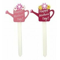 Happy Mothers Day Watering Can Picks