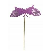 Lilac Butterfly Picks
