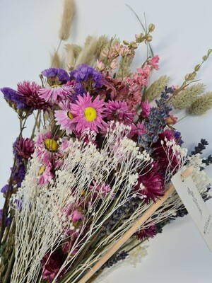 Dried Field Mix Bunch Pink