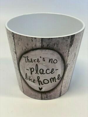 Dallas Ceramic Pot There's No place Like Home