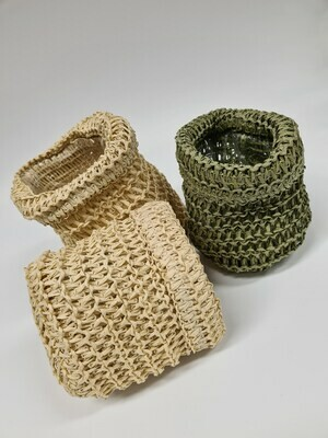 Knitted Bag with Liner