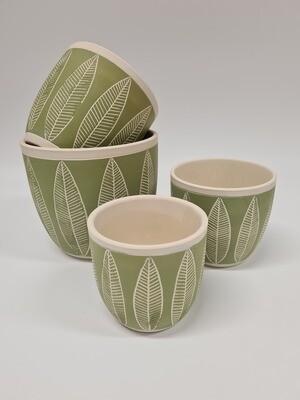 Fernside Leaf Pots