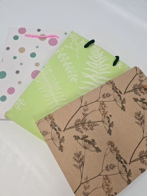 Hand Tie Bags Patterned