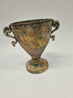 Metal Urn with Handles