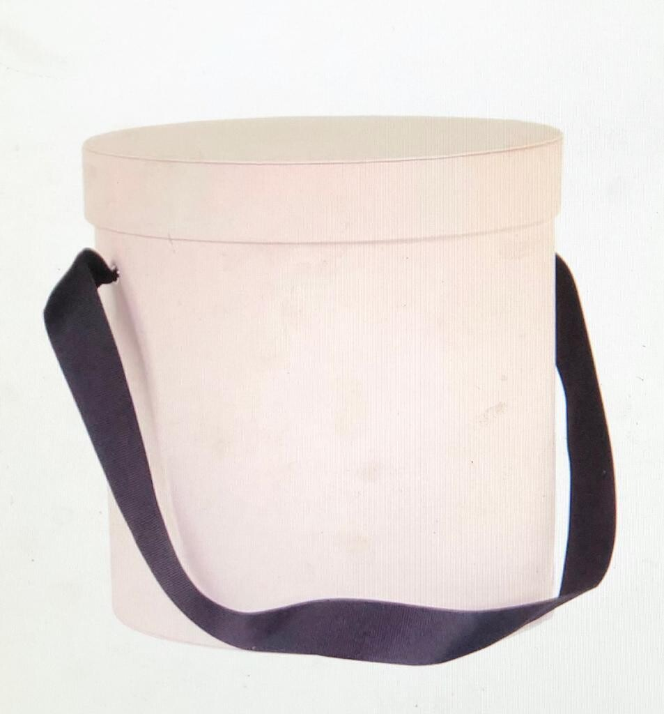 Powdered Pink with Ribbon Handle