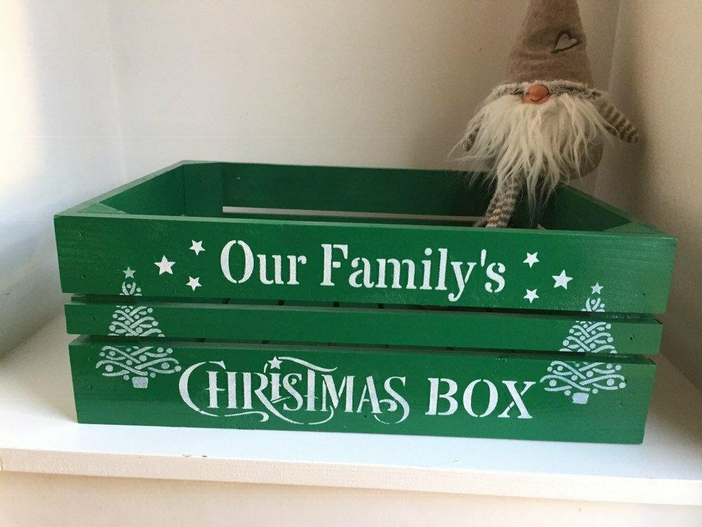 Medium Christmas Box Crate