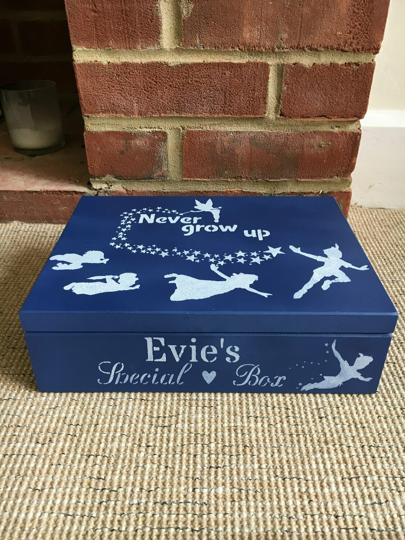 Personalised special box, secret treasures Memory Box Bespoke Childrens Gift Box