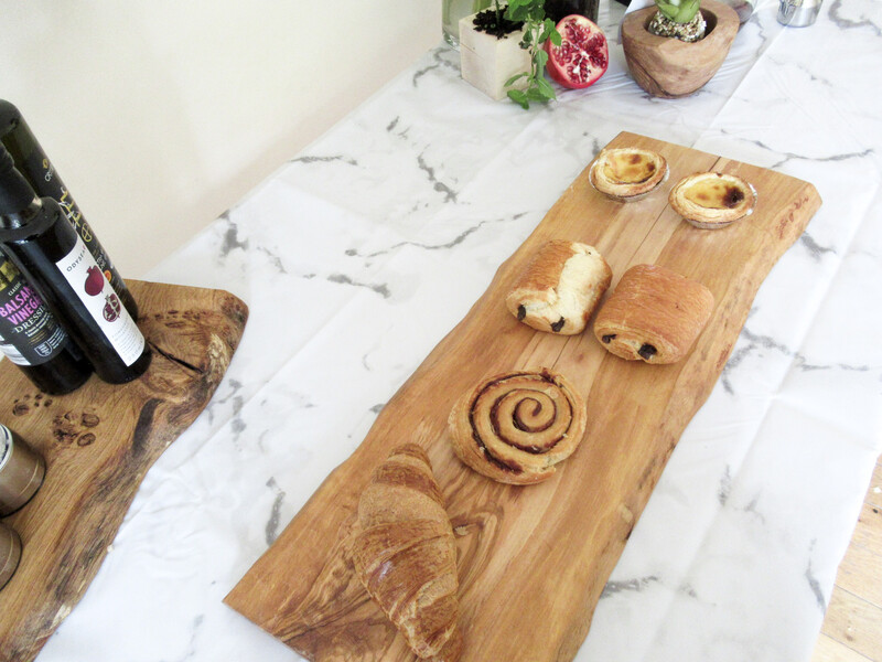 Large Italian Olive Chopping Board Charcuterie Serving Board  cheese display board