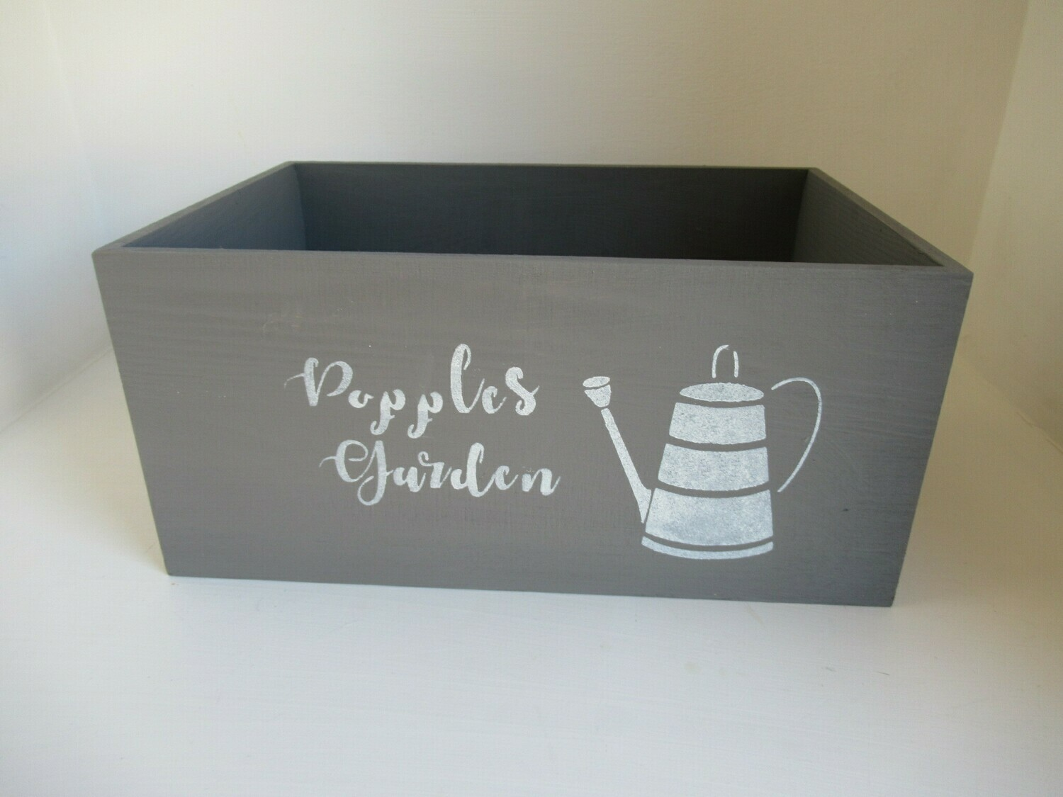 Create Your Own Box Personalised Unique Bespoke decorative shabby chic wooden Box Crate  Free UK P&P