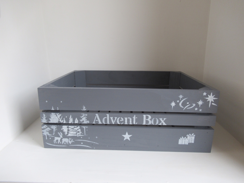 Personalised Advent Calendar Box