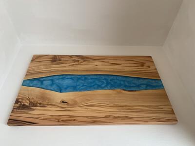 Epoxy Resin Board | Handcrafted River Board, Cutting board, Wooden Serving Board wood platter serving board