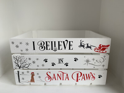 I Believe In Santa Paws Christmas Box Christmas Hamper