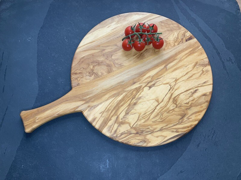 Italian Olive pizza board /wooden pizza board / pizza serving platter / wooden chopping board, perfect for pizza lovers