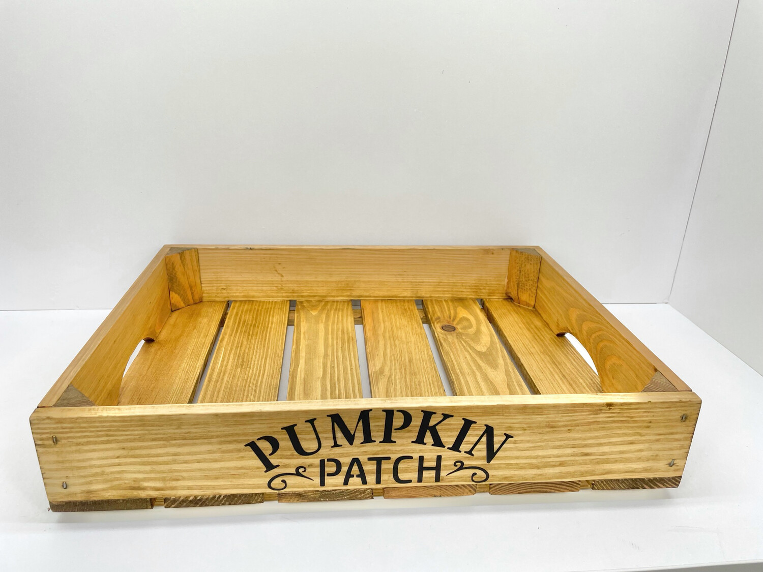 Autumn Pumpkin Patch decorative shabby chic wooden tray Free UK P&P