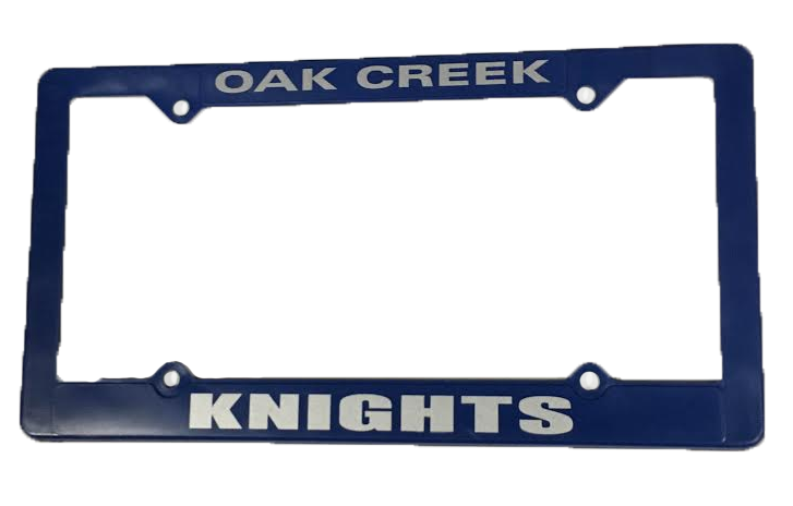 License Plate Cover OC