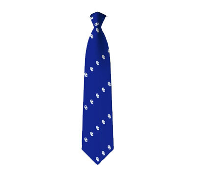 Custom Neck Tie OC Royal Blue