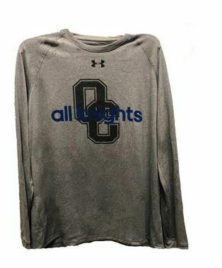 UA Grey All Knights Long Sleeve Small