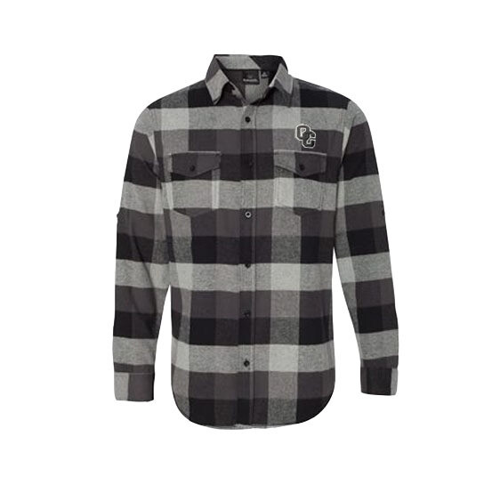 Burnside - Medium Men's Yarn-Dyed Long Sleeve Flannel Shirt