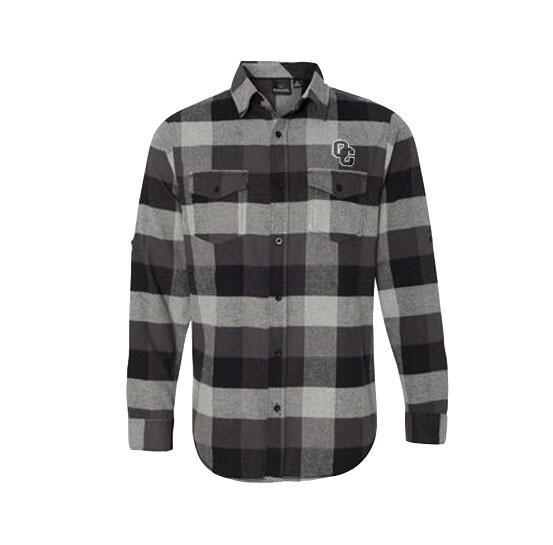 Burnside - Small Men's Yarn-Dyed Long Sleeve Flannel Shirt