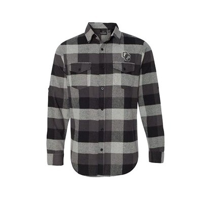 Burnside - Small Men's Yarn-Dyed Long Sleeve Flannel Shirt