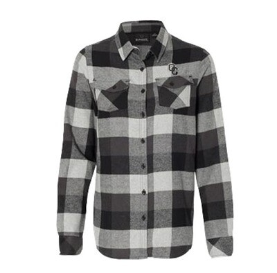 Burnside - Women's Yarn-Dyed Long Sleeve Flannel Shirt Medium