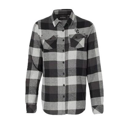 Burnside - Women's Yarn-Dyed Long Sleeve Flannel Shirt 3XL