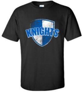 Black Knights Short Sleeve Large