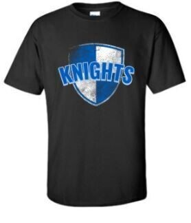 Black Knights Short Sleeve 2XL